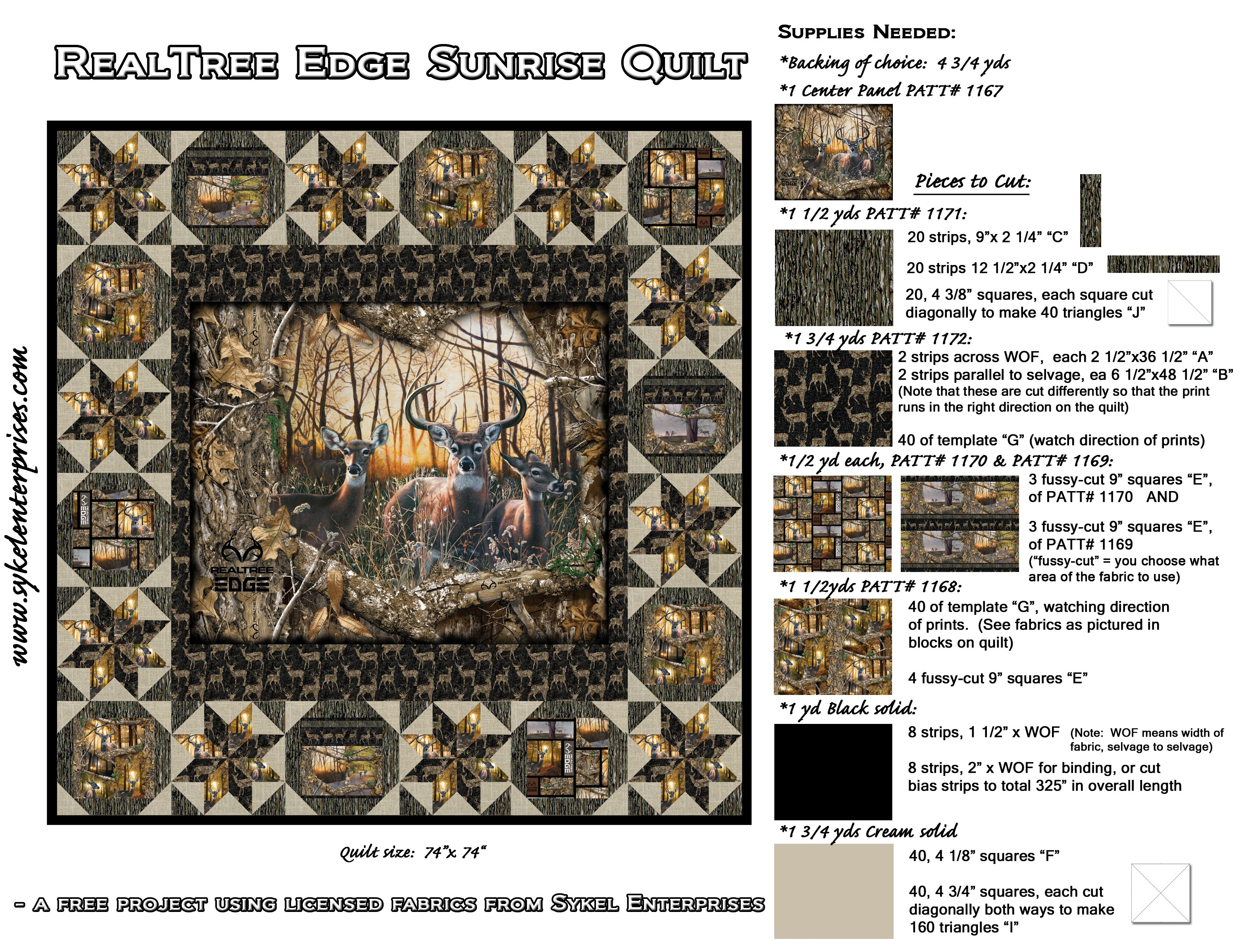RealTree Edge Sunrise Quilt