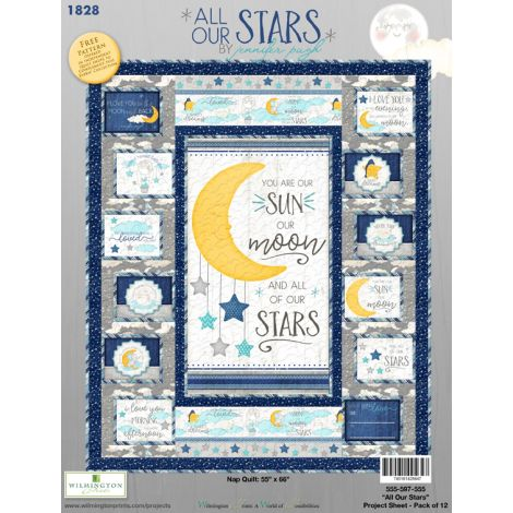 All Our Stars Nap Quilt