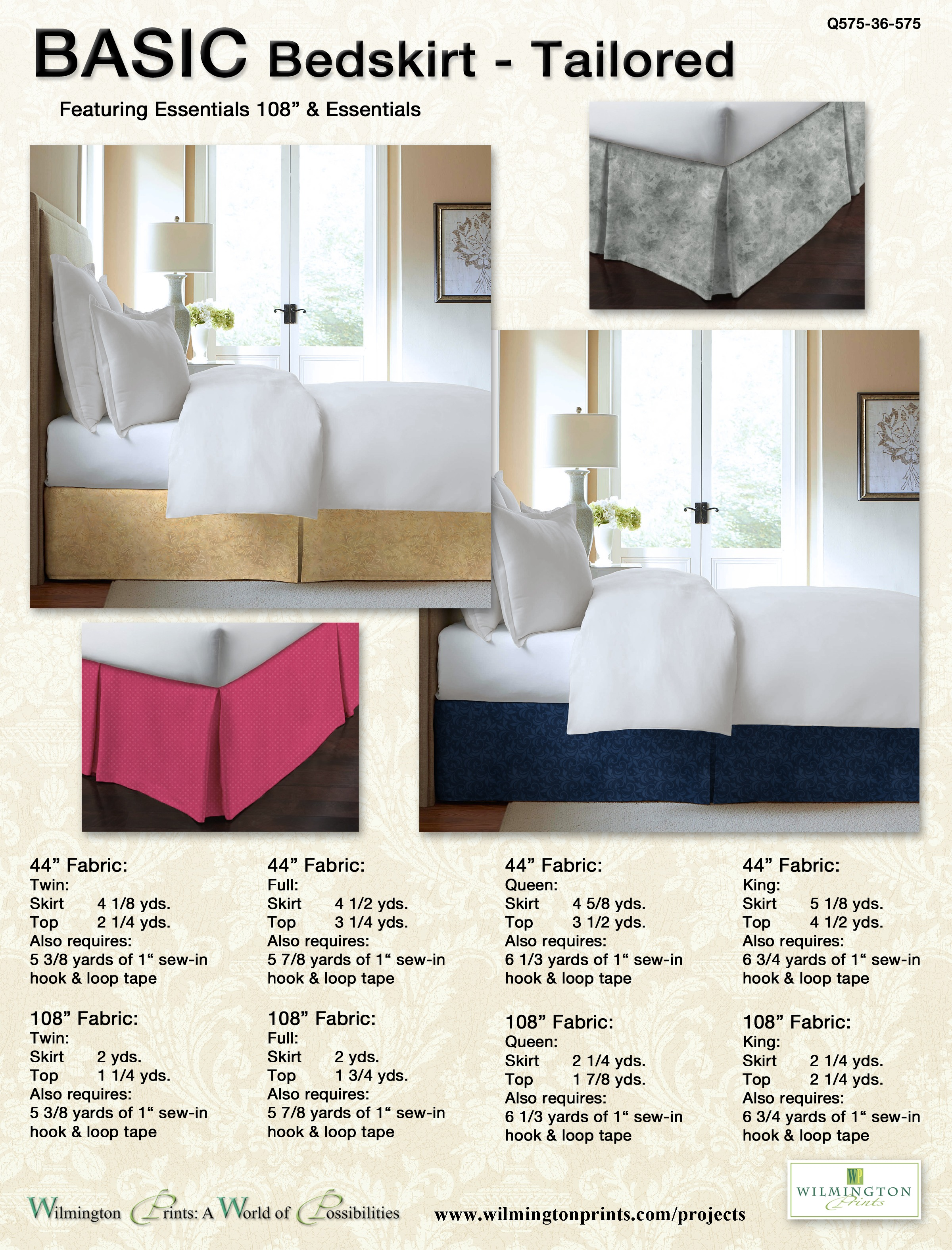 Basic Bedskirt - Tailored