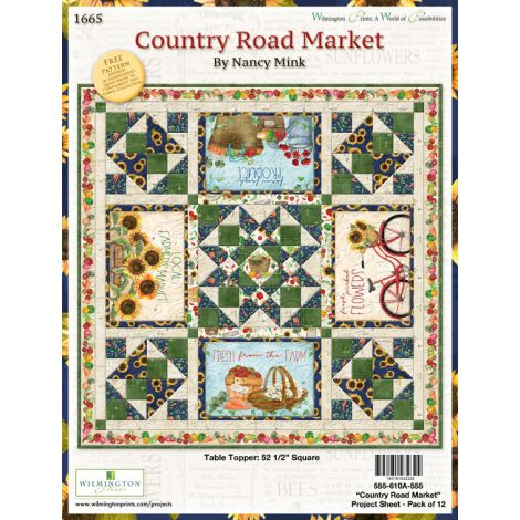 Country Road Market Table Topper