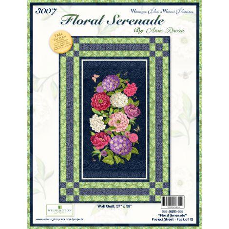 Floral Serenade Wall Hanging