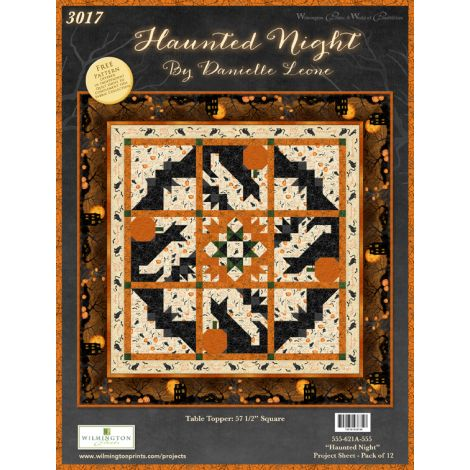 Haunted Night Table Topper