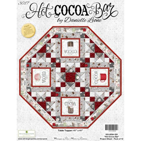 Hot Cocoa Bar Table Topper