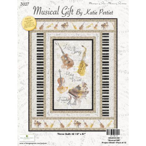 Musical Gift Throw