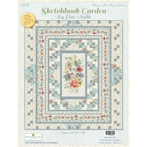 Sketchbook Garden Quilt