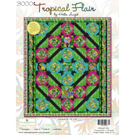 Tropical Flair Quilt