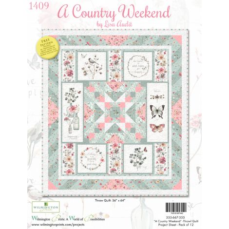 A Country Weekend Throw