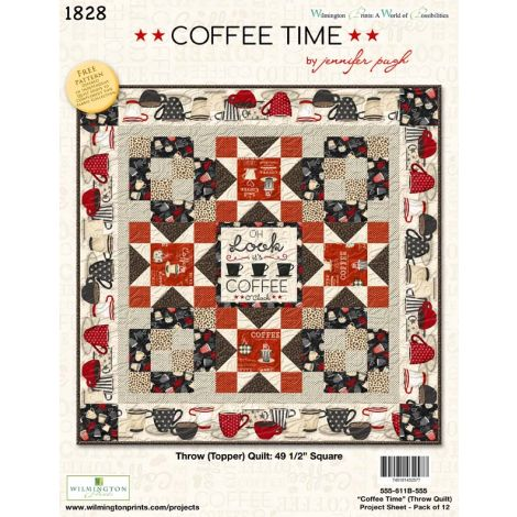 Coffee Time Topper